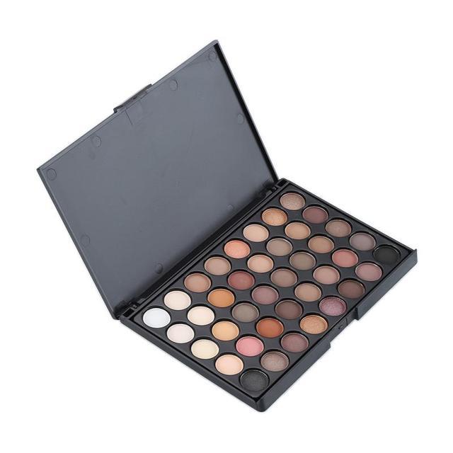 40 Colors Eyeshadow Palette New Makeup Palette Eye Primer Glitter Eye Shadow Matte Palette Makeup Cosmetics Professional 3