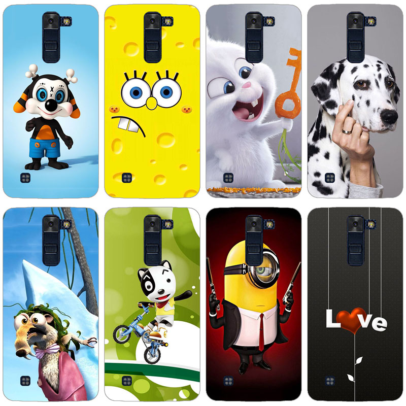 Case For <font><b>LG</b></font> K7 X210 <font><b>X210DS</b></font> Tribute 5 LS675 Case Cover 3D Patterned Case for <font><b>LG</b></font> K7 Cover Soft Silicone Coque for <font><b>LG</b></font> K7 <font><b>K</b></font> <font><b>7</b></font> Case image