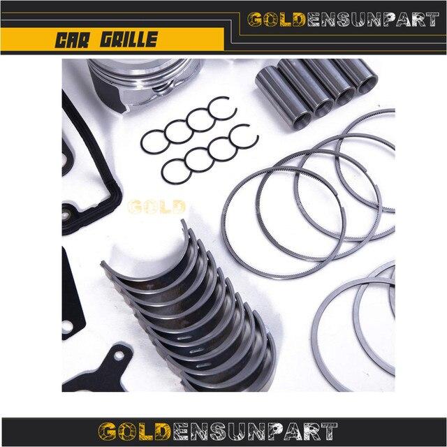 06B 107 065 N Engine Piston Gasket Seal Bearing Overhaul Kit For VW Jetta Passat Golf Audi A3 A4 A6 TT 1.8T AWP 058103383K 4