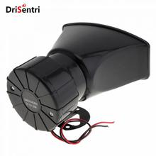 12V 100W 7 Sounds Loud Car Warning Alarm Police Fire Siren Horn Speaker with Remote Controller New цена 2017