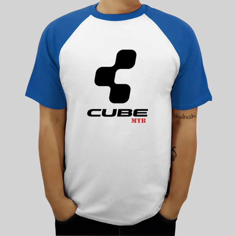 Classic Mtb Cube Tee Shirt Round Neck t-shirt for man summer style top tees unisex ringer tops drop shipping