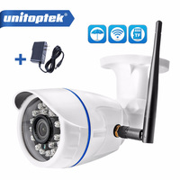 HD 720P 1080P Wireless WIFI IP Camera Outdoor Waterproof 2MP Onvif CCTV Security Camera TF Card Slot APP CamHi With 12V Power
