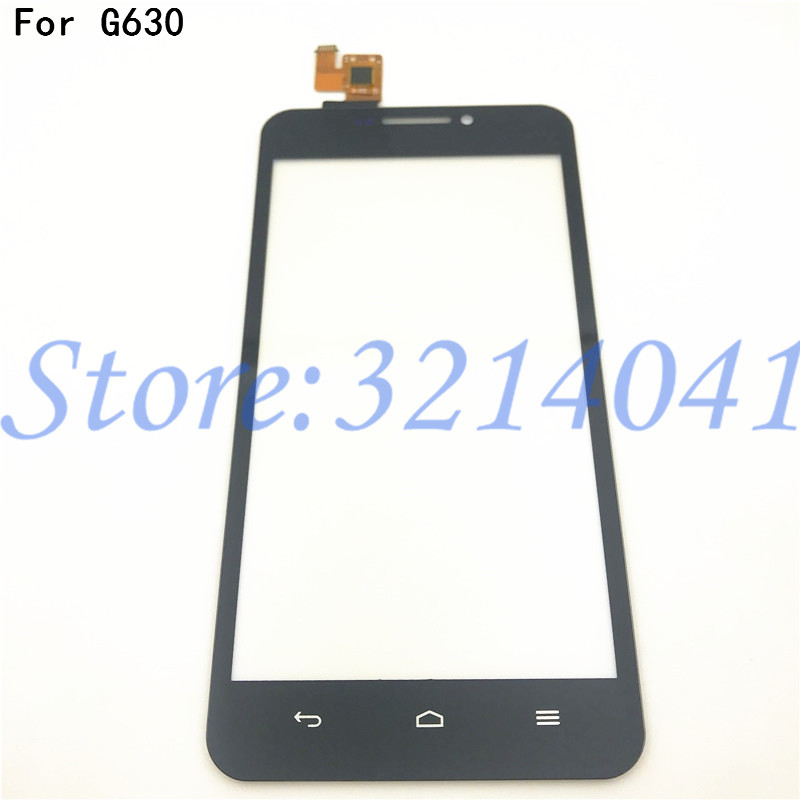 5.0 Inches For Huawei Ascend G630 Touch Screen Digitizer Front Glass Lens Sensor Panel +Free Shipping