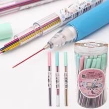 Crayon mécanique coloré 0.5 /0.7mm, 15 pièces/ensemble, dessin artistique, recharge de crayon automatique, couleur 2B