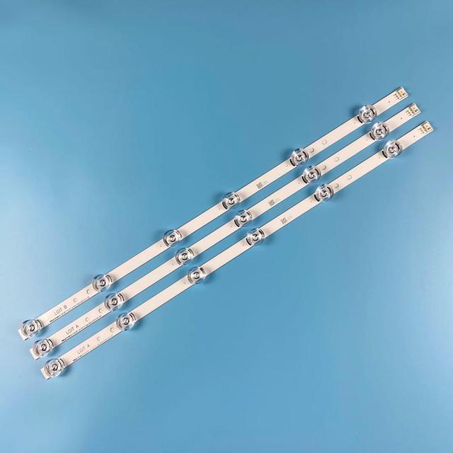 3pc ledストリップlg 32 59 センチメートル 32LB550U LV320DUE 32LF5800 32LB5610 32LB550B 32LB580 32LB5600 UZイノテックypnl drt 3.0 テレビ