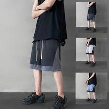 Повседневные шорты iidossan в стиле пэчворк мужские модные хип