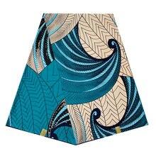 Африканская восковая ткань с принтом 6 ярдов Анкары супер настоящий