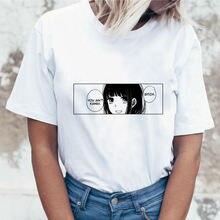 Веселая женская футболка с принтом щенков Женский Топ милая