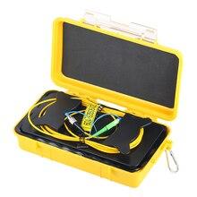 Fiber Optic OTDR Launch Cable Box 1km SC /APC-FC/UPC Optical Fiber Tester Extension Single-Mode