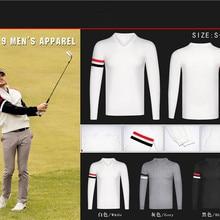 Z Мужская одежда для гольфа, мужской свитер с длинными рукавами, дышащая одежда для гольфа