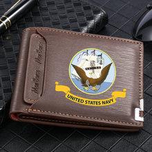 Американский морской корпус искусственная кожа мужской короткий