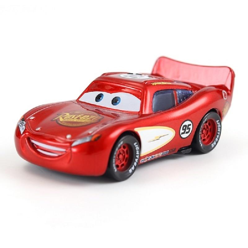 Disney Pixar машина 3 автомобиль 2 Маккуин автомобиль Игрушка 1:55 литой металлический сплав модель Игрушечная машина 2 детские игрушки День рождения Рождественский подарок - Цвет: 6