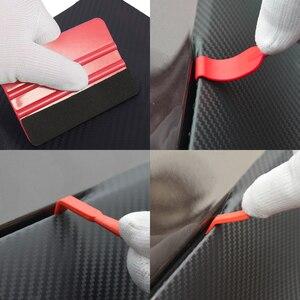 Image 5 - Innen Auto Vinyl Schaber Auto Dashboard Aufkleber Film Wrapping Werkzeuge Universal Auto Filz Rakel Schaber Messer Aufkleber Plaste