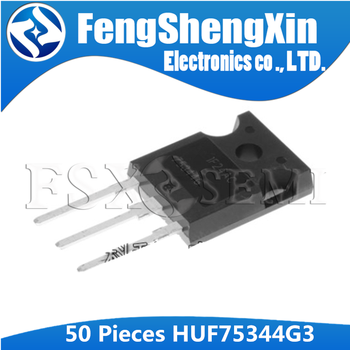50pcs HUF75344G3 TO-247 75344G TO247 HUF75344  Power MOSFETs