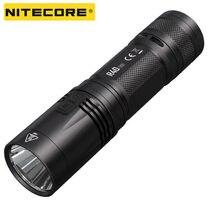 Nitecore r40 v2 lanterna led 1200lms cree XP-L2 v6 carregamento sem fio de alta potência lanterna com 21700 bateria busca ao ar livre