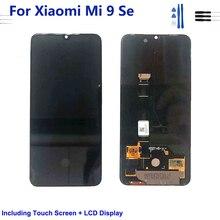 Para xiaomi mi 9 se oled display lcd tela de toque digitador assembléia mi9 se m1903f2g lcd com quadro para xiaomi mi9 se
