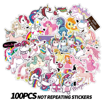 100pcs pack do not repeat notebook bike luggage box aj shoes tide brand jordan graffiti jordan waterproof stickers 100Pcs Stickers for Unicorn Cartoon Animal Waterproof Cute Graffiti Sticker to DIY Luggage Bike Notebook Laptop Guitar Decals