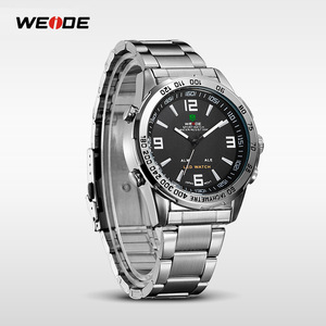 Image 5 - ウェイド 2019 メンズビジネスカジュアル腕時計ラグジュアリーブランドクォーツ led デジタルムーブメント腕時計時計軍事レロジオ masculino