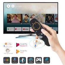 G10S 2.4GHz אלחוטי עף עכבר שלט רחוק עבור אנדרואיד טלוויזיה תיבת מקרנים עם קול בקרת ג יירו חישה משחק מחשב