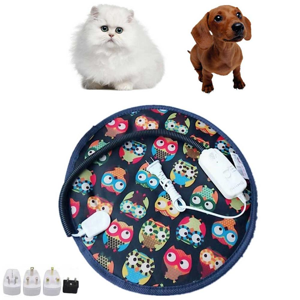 Color Selectable 3 Gear Pet Dog Cat Waterproof Electric Heating Pad Body Winter Warmer Mat Bed Blanket Animals Bed Heater