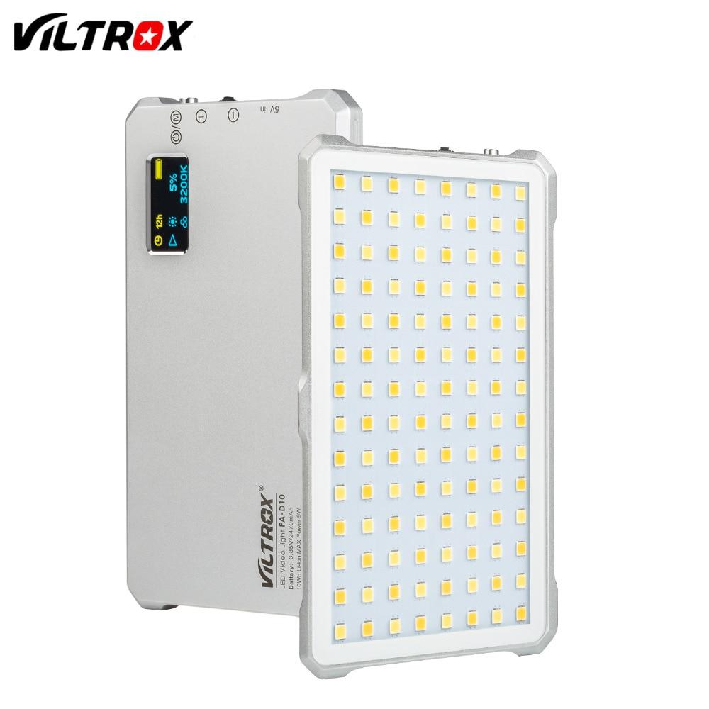 VILTROX FA-D10 Mini Bi-color LED Luz de
