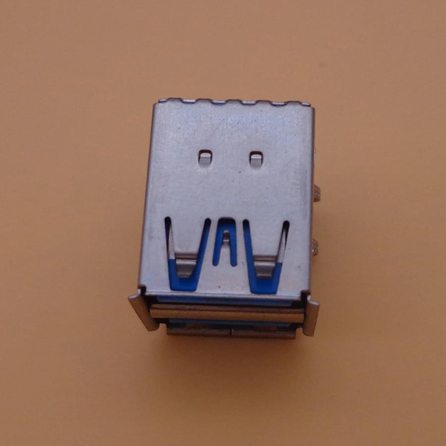 10Pcs 19Pin Hi-Speed USB 3.0 Dual Port Female 90 Degrees DIP Socket Type-A