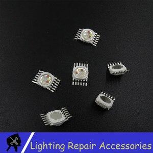 Image 3 - Светодиодный светильник RGBWA UV 6 в 1, светодиодный светильник для сцены, 6 Вт, 12 Вт, 18 Вт, светодиодный светильник