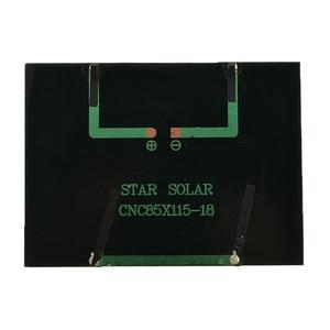 Image 5 - 12V 1.5W Mini panneau solaire Standard époxy polycristallin silicium bricolage batterie Module de Charge de cellule solaire panneau de Charge