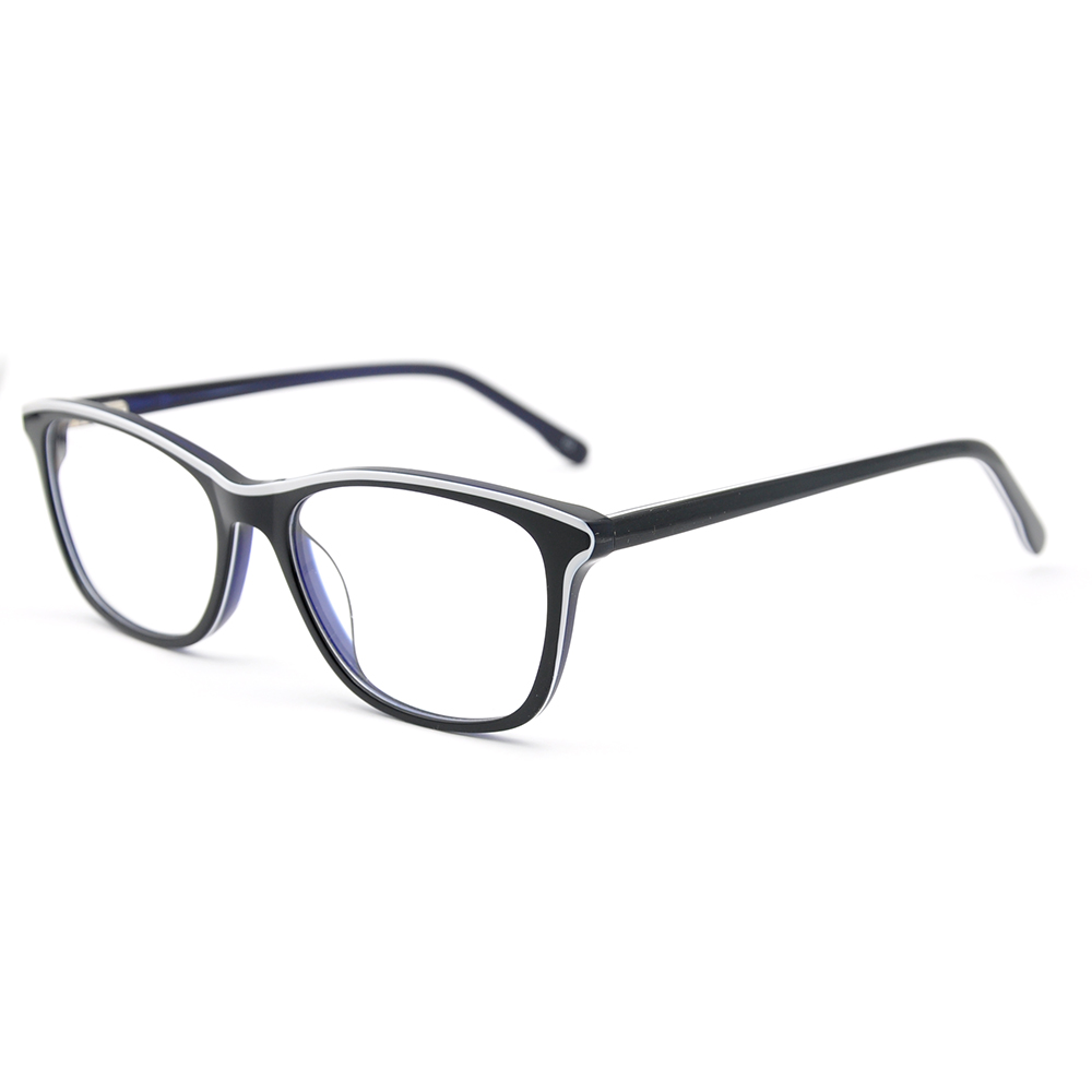 LUCIDIE 2020 Fashio Anti Blue Ray Computer Glassesn Eyeglasses Square Glasses Frames Men Women Optical Prescription Spectacles