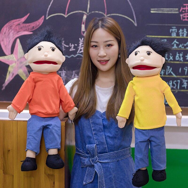 Cute Abdominal Hand Puppet Hand Puppet Fantoche Doll