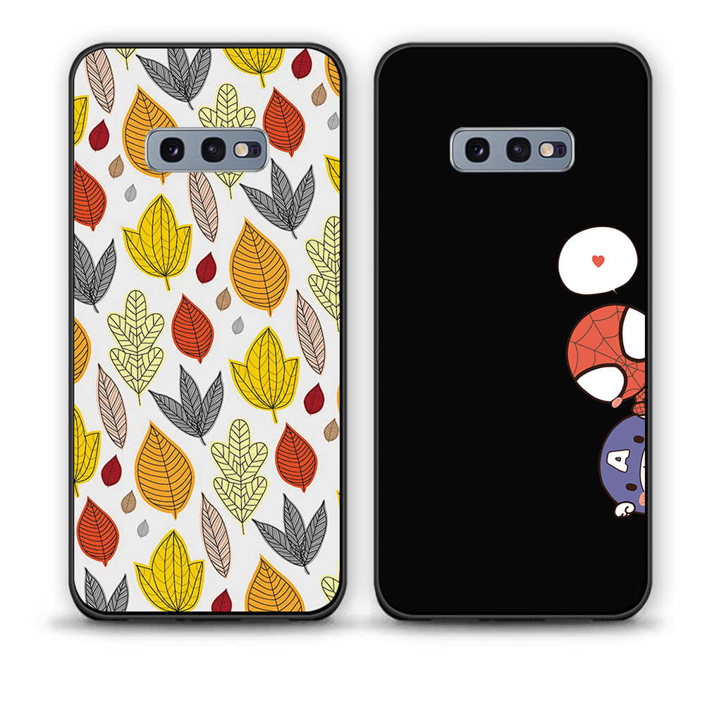 Exoeic pokrywy skrzynka dla Samsung Galaxy note8 miękkiego silikonu TPU mody sztuka dla Samsung Galaxy note8 telefon futerały ochronne powłoki