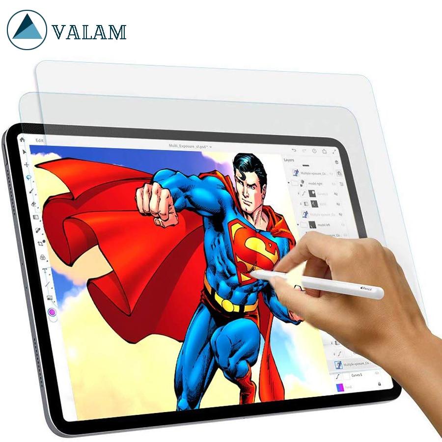 For Apple IPad Mini5 9.7 10.2 10.5 Pro11 12.9 Inch 2019 Paper Like Paper Like Screen Protector Anti Glare Paper Texture PET Film