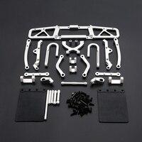for 1/5 HPI BAJA RACING/KM HPI 5B 5T 5SC LOSI TDBX FS Racing 1/5 Scale Rc 5T 5SC 5T 5SC CNC Rear Bumper Kits