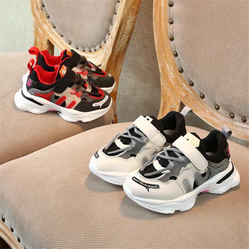DIMI 2020 New Spring Kids Shoes Boys Girls Sport Shoes Fashion Breathable Baby Sneakers Soft Bottom High Quality Children Shoes
