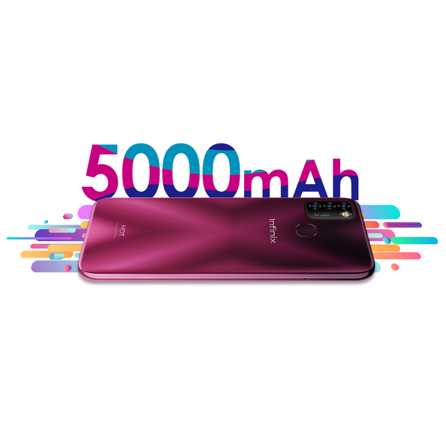 Global Version Infinix Hot 10 Lite 2GB 32GB Mobile Phone 5000mAh Battery 6.6''HD 1600*720P 13MP Camera Helio A20 3