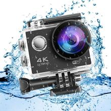 цена на Ultra HD 1080P 4K Action Camera WiFi 2.0 inches LCD Screen 170 Lens Waterproof Sports Camera Outdoor Diving Bicycle Camcorder