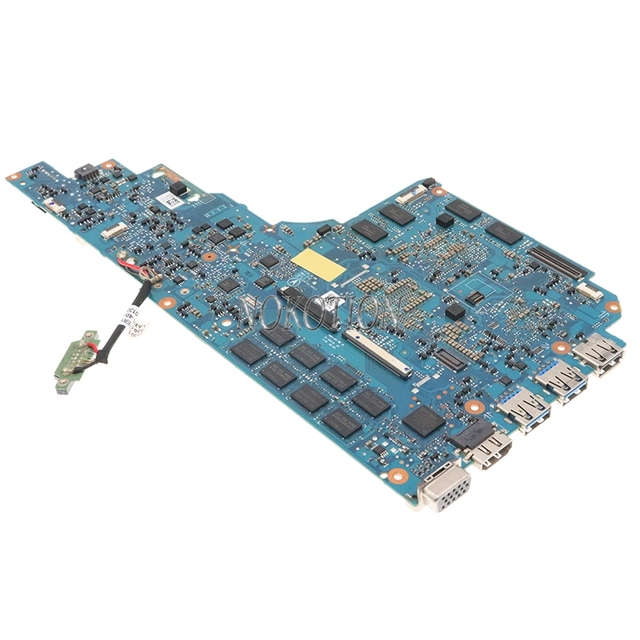 Nokotion A1903801A 1P-0128701-A011 لسوني vaio SVS151 SVS1512S1C V131 MBX-262 اللوحة المحمول I7-3520M 4G RAM GT640M