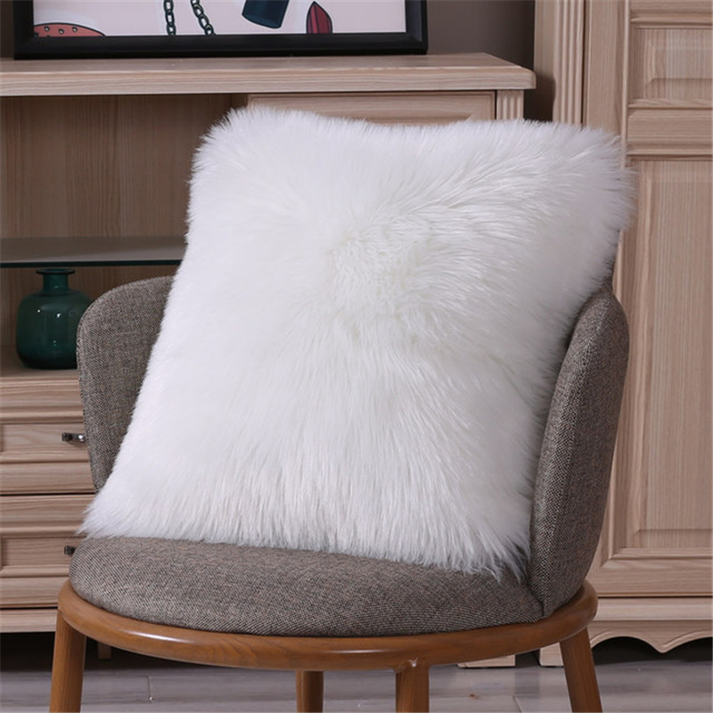 High Quality Beautiful Sofa Waist Throw Pillow Plush Cushion  For Home Decor Sofa Cushions Decorative Cushion