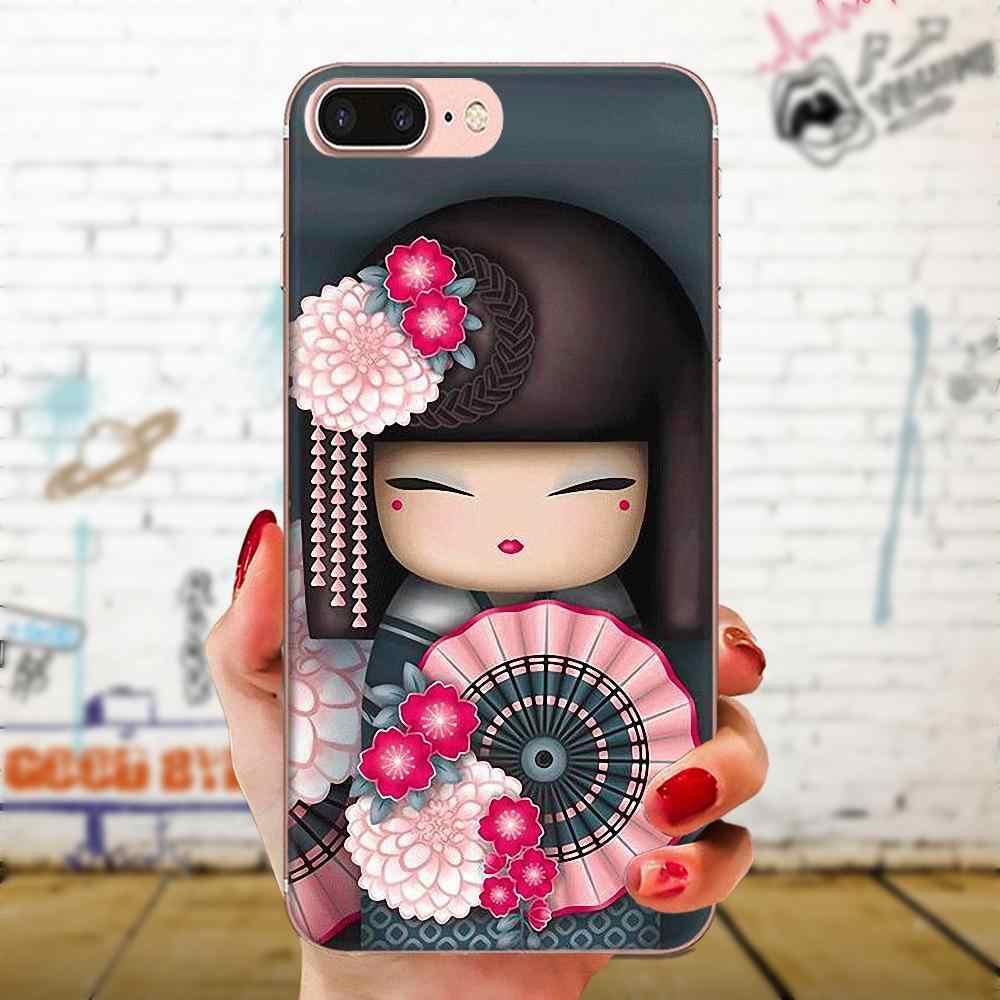 Японский каваи кукла для samsung Galaxy Note 5 8 9 S3 S4 S5 S6 S7 S8 S9 S10 5G mini Edge Plus Lite сотовый Чехол