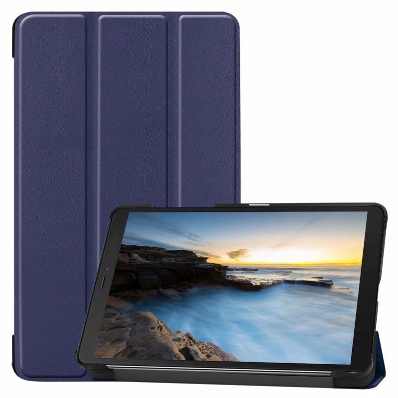100 шт/партия для Samsung Galaxy Tab A 8,0 2019 чехол ультра тонкий умный чехол для Galaxy Tab A 8,0 дюймов 2019 SM-T290 T295 планшет
