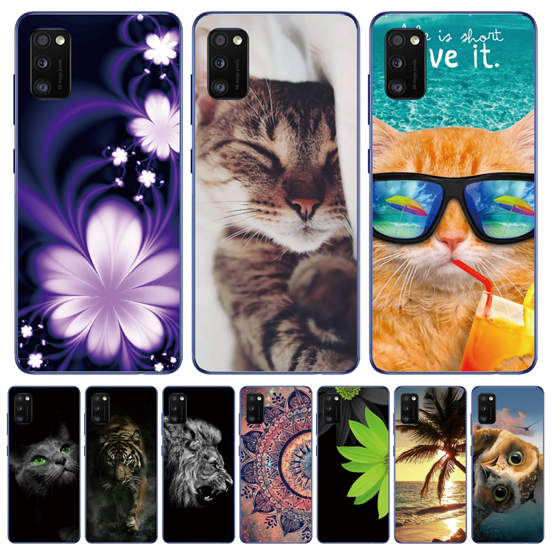 For Samsung Galaxy A41 Case Soft Silicone Back Cover Phone Case On For Samsung A71 A 71 A51 A41 A 41 TPU Bumper Case Cover Coque