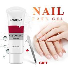 20g Nail Repair Gel Natural Plant Oil Nail Nutrition Cuticle Repair Cream Exfoliating Cuticle Easy To Penetrate Nail Care TSLM1