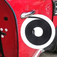 3 м/5 м Автомобильная дверь анти-столкновения полосы Избегайте царапин лента протектор для Mini Cooper S ONE JCW R55 R56 R60 F54 F60 автомобильные аксессуары
