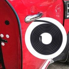 3m/5m porta do carro anti-colisão tira evitar risco protetor de fita para mini cooper s um jcw r55 r56 r60 f54 f60 acessórios do carro