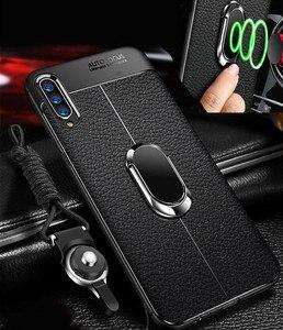 Чехол для Xiaomi Mi 9 10 8 Lite SE, мягкий магнитный чехол из ТПУ с кольцом-держателем для телефона Mi 9 8 Se A3 note 10 9t Pro