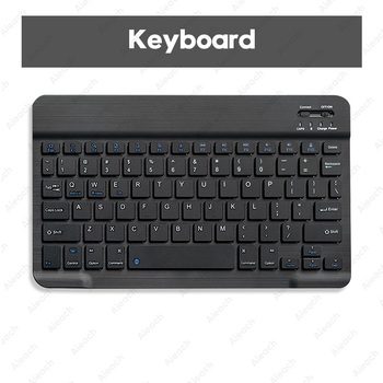 Tablet Wireless Keyboard For iPad Pro 2020 11 12.9 10.5 Teclado, Bluetooth Keyboard Mouse For iPad 8th 7th 6th Air 4 3 2 mini 5 12
