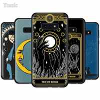Witches Moon Tarot Mystery Totem Case for Samsung Galaxy S10 5G S10e S9 S8 Plus S7 Edge Note 10 9 8 + Black Silicone Soft Phone