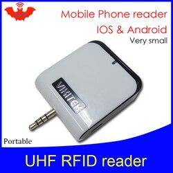 UHF قارئ رفيد مايكرو جيب قارئ صغير محمول VIKITEK VPR01 المكونات في سماعة الهاتف المحمول ثقب سهلة الاستخدام ناسخة الكاتب الصغيرة