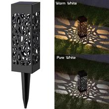 Led-Torch-Lights Flames Solar Garden Pathway Waterproof Dancing