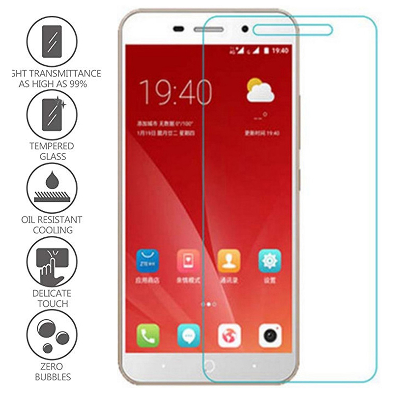 Protective Glass Tempered Glass For ZTE Blade A6 A610 A520 A512 A510 A452 A3 Screen Protector For Blade L5 Plus L3 L2 L110